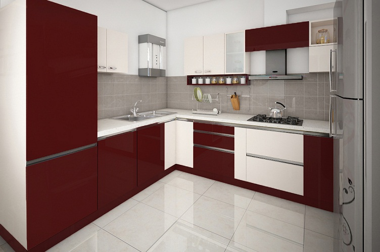Interior Design Company In Marathahalli-Kitchen 2-3BHK, Bangalore