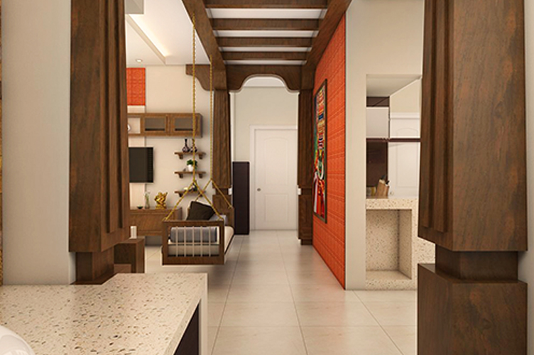 Best Interior Designers In Rajajinagar-Living-Room-3BHK, Bangalore