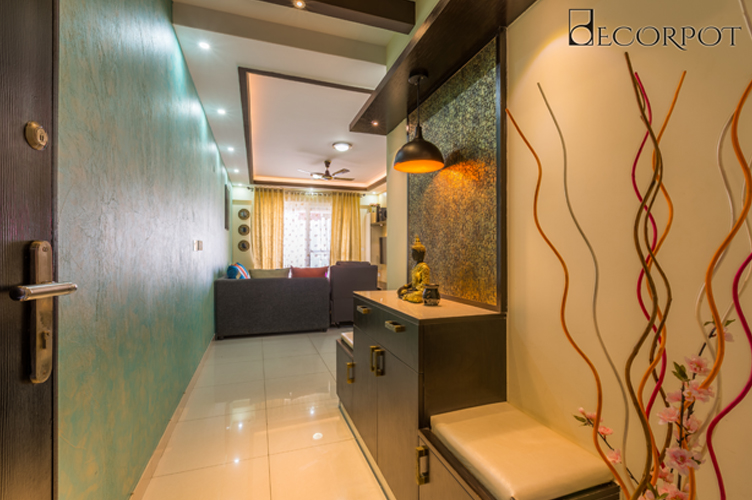 Interior Designers In Whitefield-Foyer-3BHK, Bangalore
