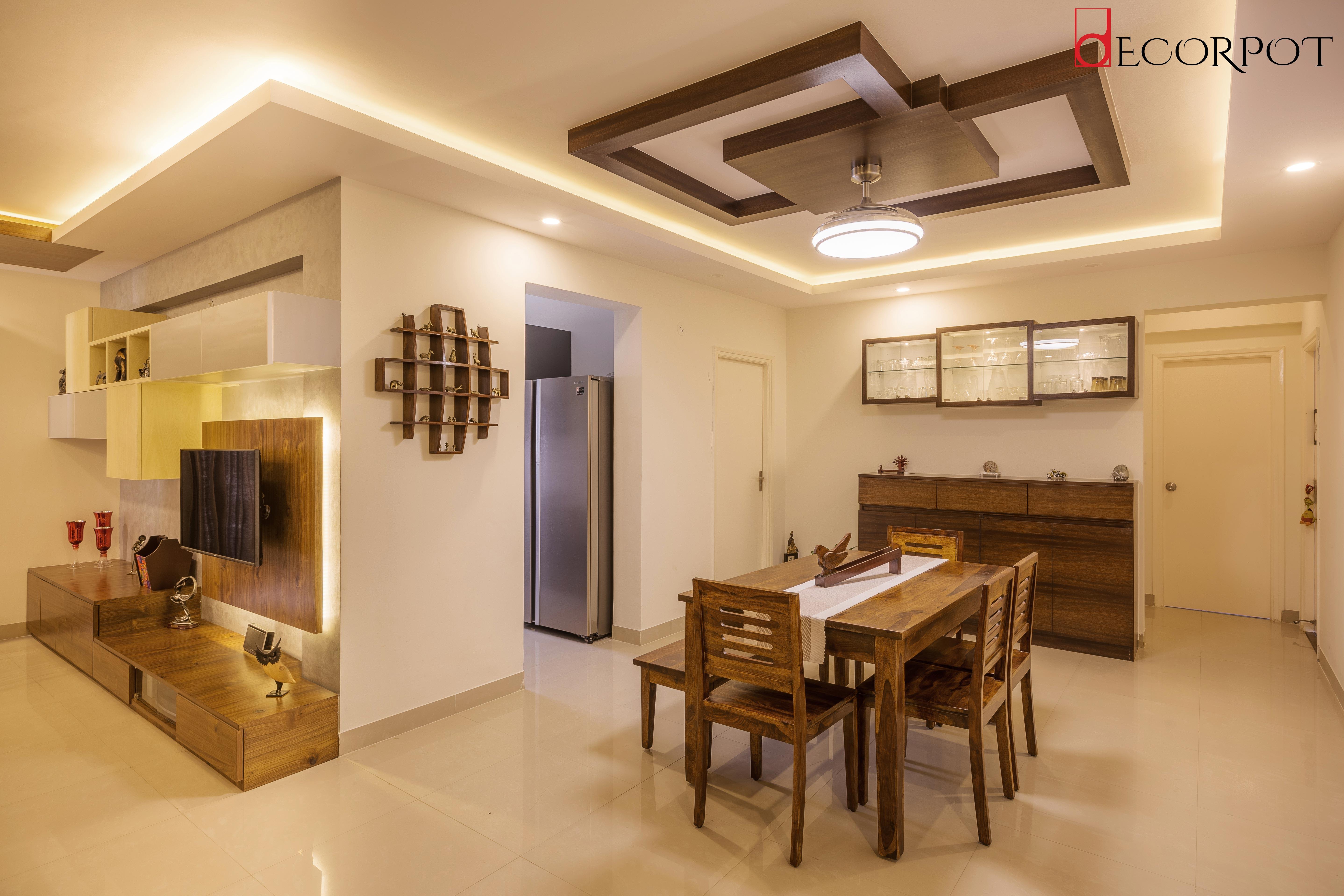 3BHK Interior Design Sarjapur Road, Bangalore   Decorpot ...