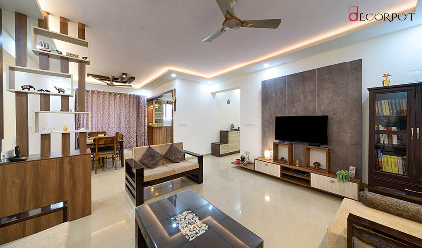 A Generous Luxury Space Tailored with Finest of Finishes by Decorpot