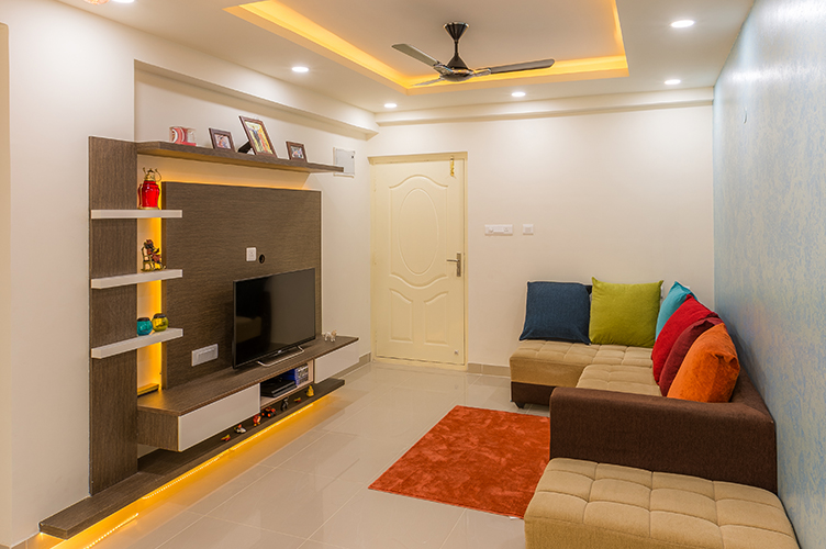 3bhk Interior Design Krishnarajapura Bangalore Decorpot Project 18