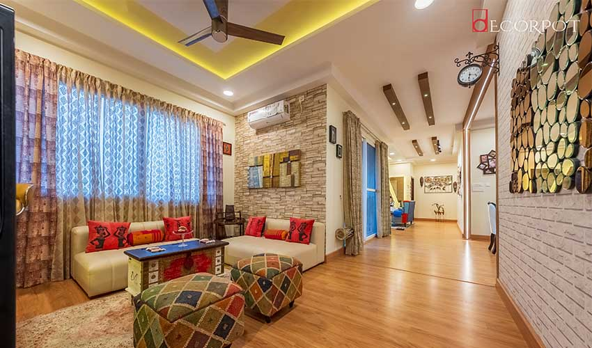 Blend of Bright, Elegant & Contemporary This Spectacular Home in Bangalore Defines True Luxury Opulence