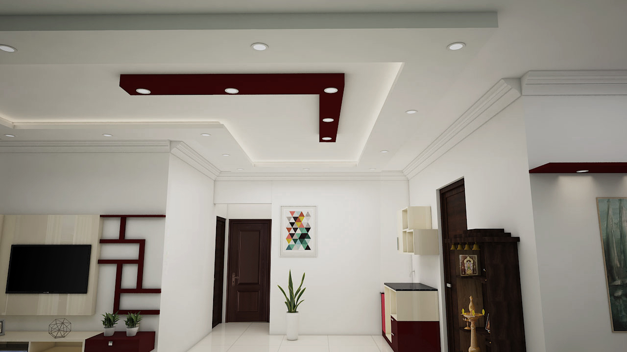 Best Interior Designers In Indiranagar-Living-Room-3BHK, Bangalore