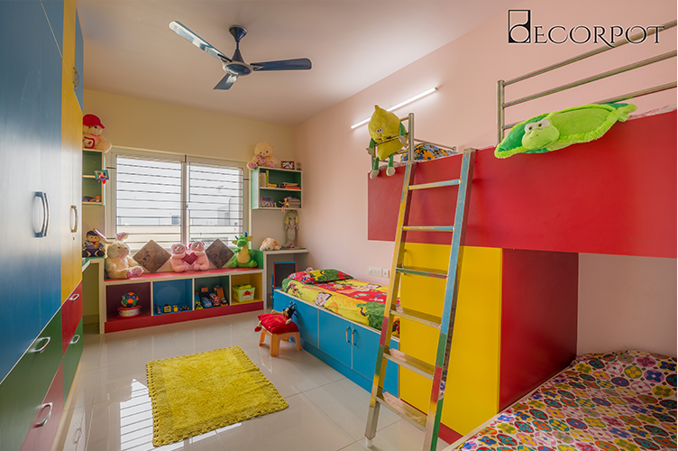 Bedroom Interior Design-KBR 2-3BHK, Kanakpura Road, Bangalore