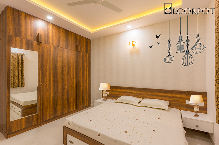 Guest Bedroom Interior Design Bangalore-8.GBR1-3BHK, Bannerghatta Road, Bangalore