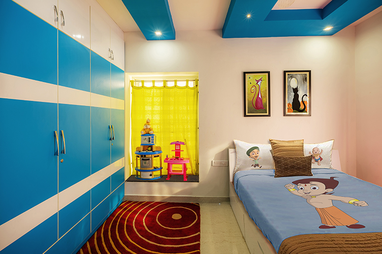 Kids Room Interior Design Bangalore-KBR-2BHK, Electronic City, Bangalore
