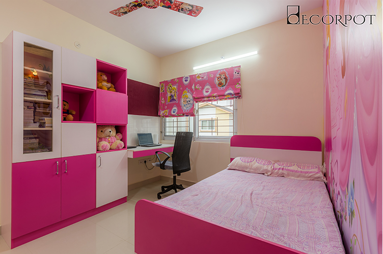 Kids Room Interior Design Bangalore KBR 2BHK, Kanakpura Road, Bangalore