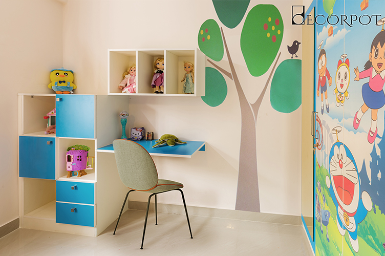 Kids Room Interior Design Bangalore-7 KBR-2BHK, Kasavanahalli, Bangalore