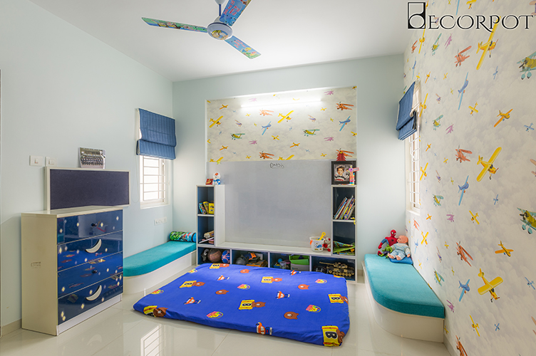Kids Room Interior Design Bangalore-KBR 2-3BHK, Sarjapur Road, Bangalore