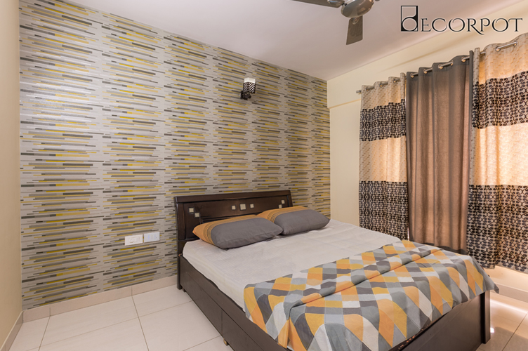 Parents Room Interior Design-GBR-3BHK, Whitefield, Bangalore