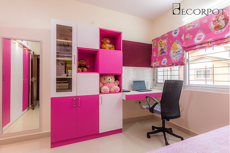 Study Room Interior Design Bangalore-KBR 2-2BHK, Kanakpura Road, Bangalore