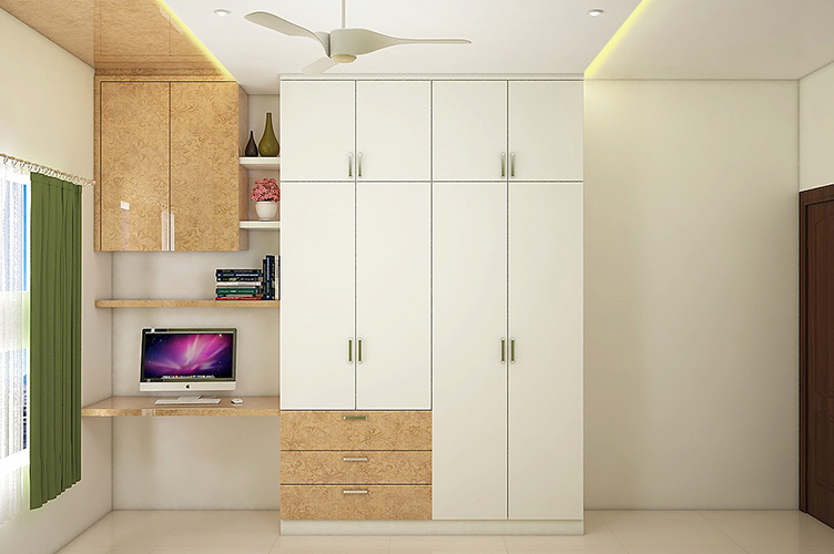 leading walk in wardrobe interior designers in bangalore